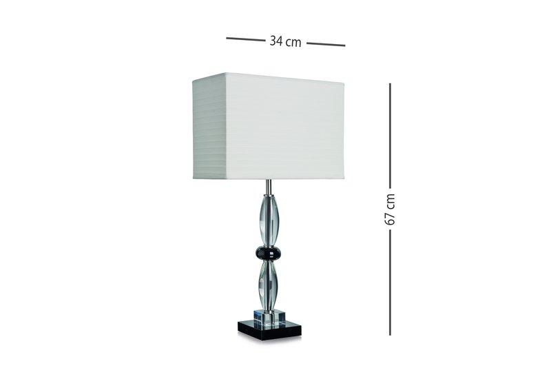 Olivia table lamp dettagli firenze treniq 5