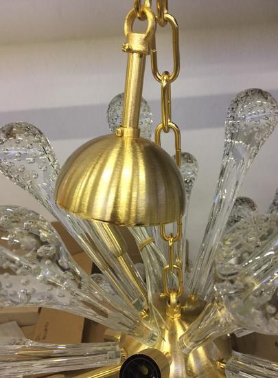 Murano glass sputnik chandelier vintage style  il paralume marina treniq 2 1529044360259