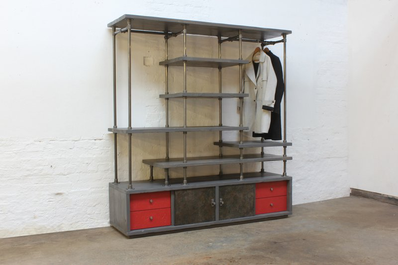 Lanz freestanding wardrobe with storage  urban grain treniq 1 1529314691615