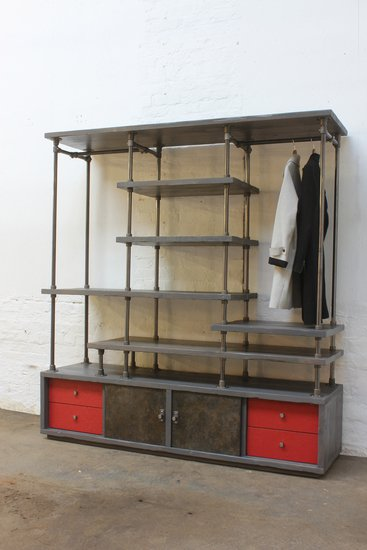 Lanz freestanding wardrobe with storage  urban grain treniq 1 1529314691617