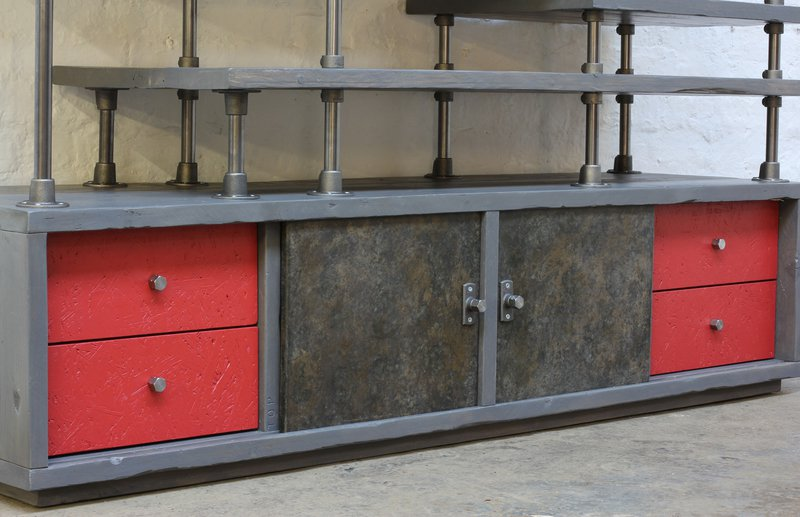 Lanz freestanding wardrobe with storage  urban grain treniq 1 1529314691620
