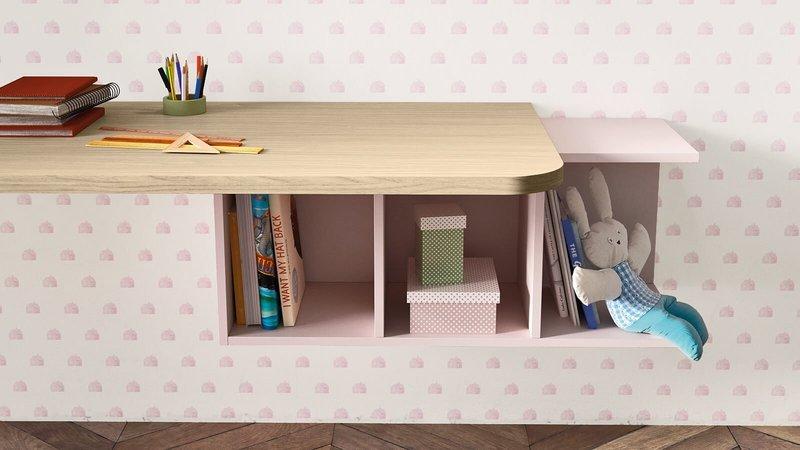 Desk with luce wall unit by nidibatis fci london treniq 1 1529314820745