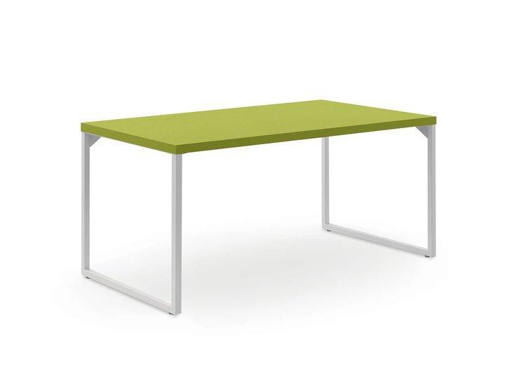 Desk with loom legs by nidibatis fci london treniq 1 1529314875737