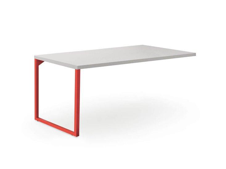 Desk with loom legs by nidibatis fci london treniq 1 1529314875741