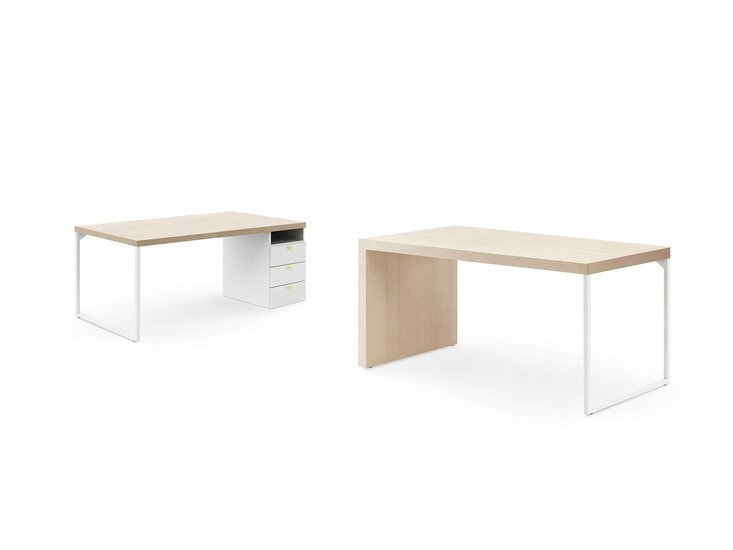 Desk with loom legs by nidibatis fci london treniq 1 1529314875743