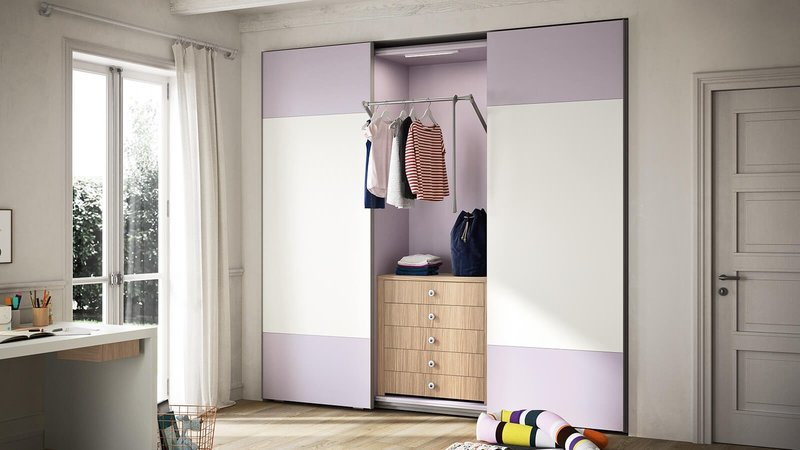 Wardrobe with lila sliding door by nidibatis fci london treniq 1 1529316069537