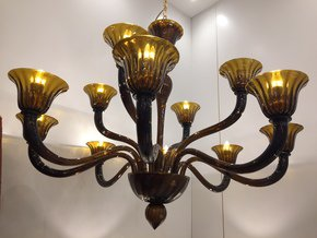 Chandelier-Murano-Glass-Triedo-Sputnik-Italy-Tabacco-Color_Il-Paralume-Marina_Treniq_0
