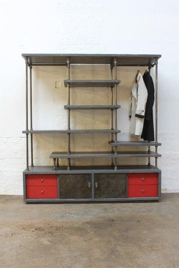 Lanz freestanding wardrobe with storage  urban grain treniq 11 1529322245907