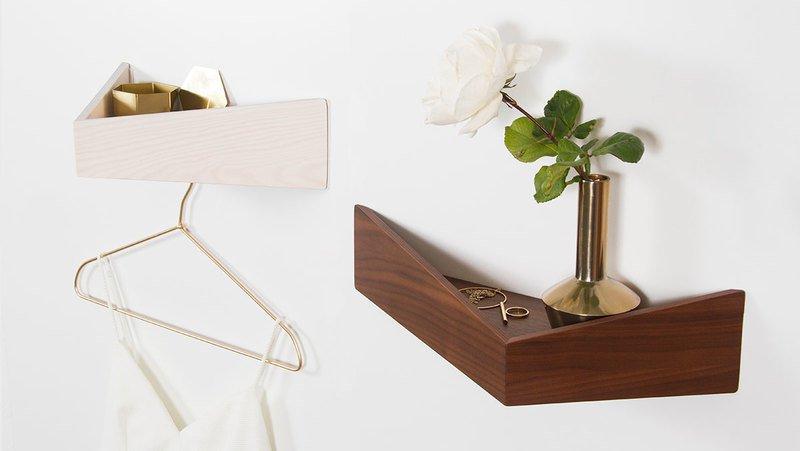 Pelican s   shelf with three hidden hooks  woodendot treniq 1 1529510010312