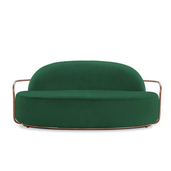 Orion Sofa Verde Contemporary By Scarlet Splendour Designs Private