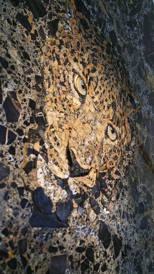 Jaguar mosaic progetto arte poli treniq 3 1530164541719